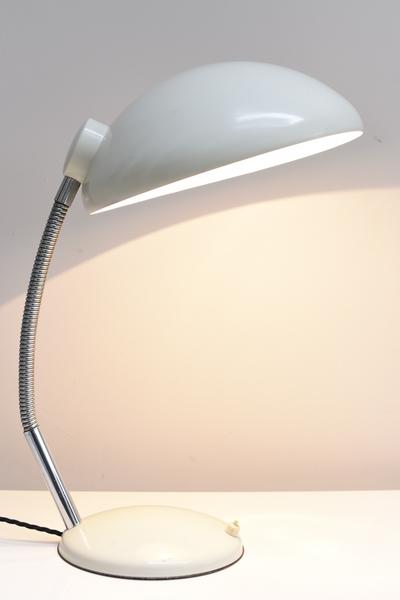 German Bauhaus Era Metal Desk Lamp