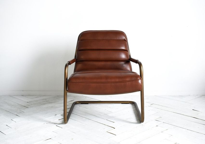 Kobalt Lounge Chair In Light Brown