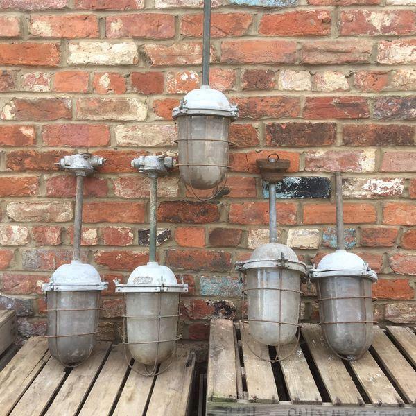 1 Vintage Metal Industrial Rustic Loft Living Lamp Light