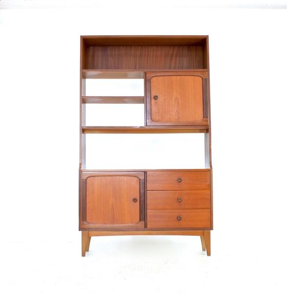 Vintage Teak 1970s Danish Influence Room Divider/Bookcase