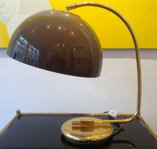 1970s French Table Lamp