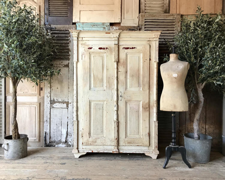 Lovely, Rustic, Vintage French Storage Cupboard