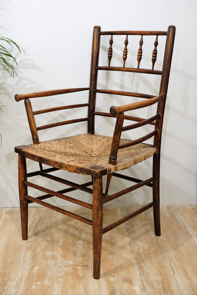 Arts & Crafts Morris & Co. Sussex Chair