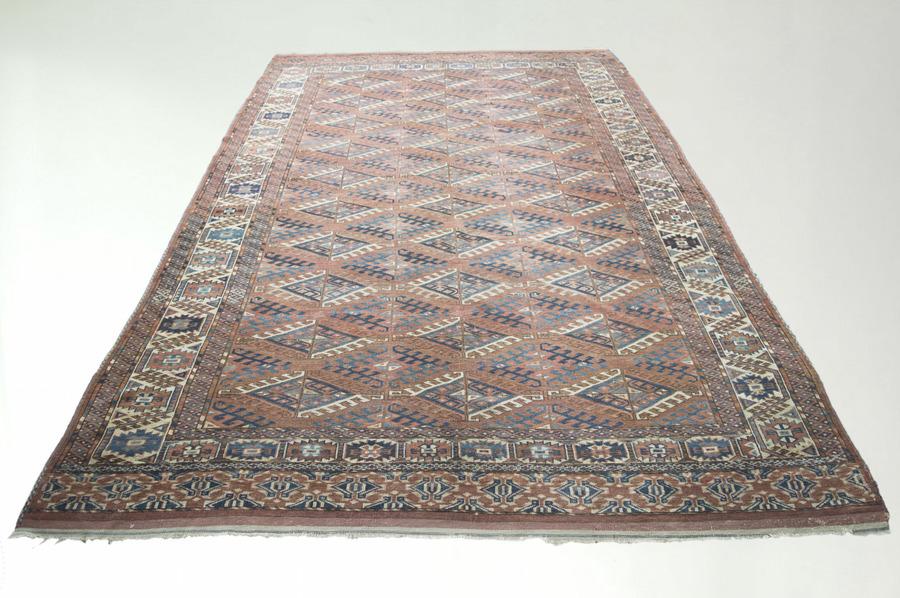 Old Persian Turkaman Rug