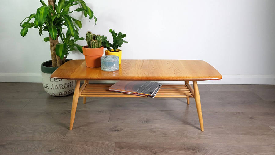 Ercol Coffee Table 1960s Refinished