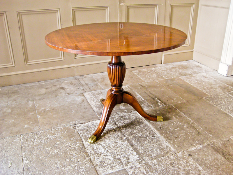 Rosewood And Mahogany Dining Table In The Style Of  Paolo Buffa
