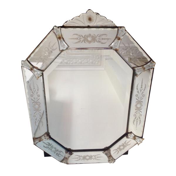 Venetian Octogonal Mirror