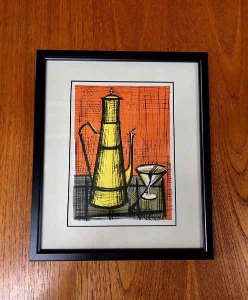 Original Mid Century Bernard Buffet Framed Print