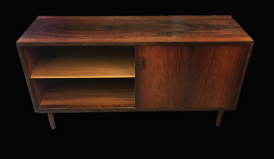 Danish Rosewood Sideboard With 1 Door And 4 Drawers