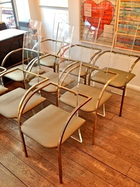 Set Of Maison Jansen Style Chairs