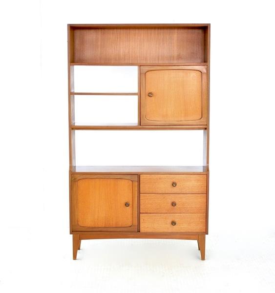 Pleasant Vintage Teak 1970S Room Divider Bookcase Vinterior Interior Design Ideas Tzicisoteloinfo