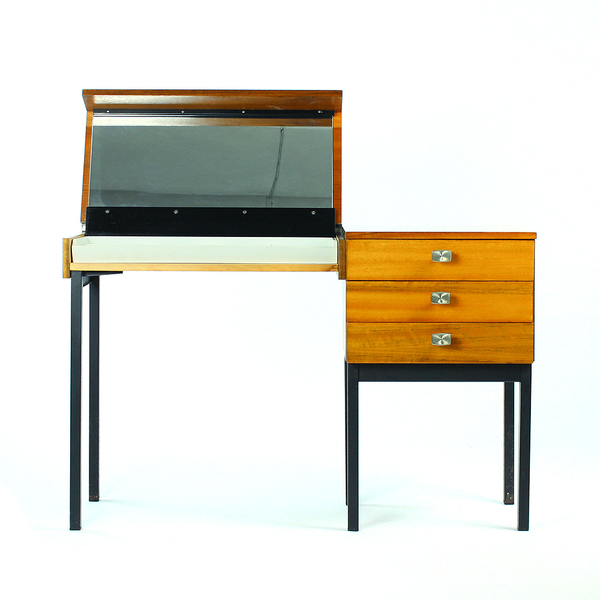 Dressing Table Erika, Set Of 2, Czechoslovakia 1970s