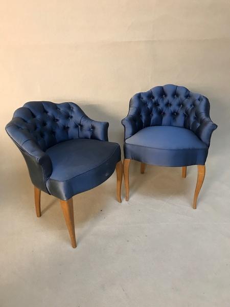 Art Deco Salon Chairs