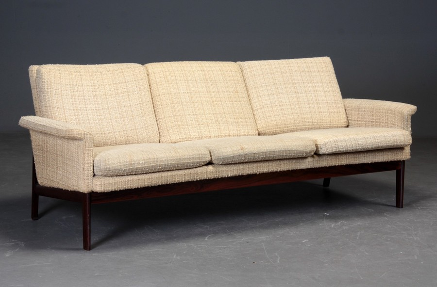 Finn Juhl Three Seater Sofa Model 218
