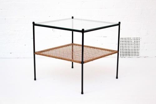 Dutch Steel And Glass Coffee Table photo 1