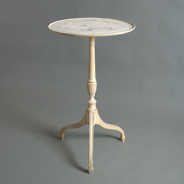 A Painted George Iii Style Occasional Table