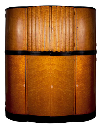 Harry And Lou Epstein Art Deco Cloud Cocktail Cabinet