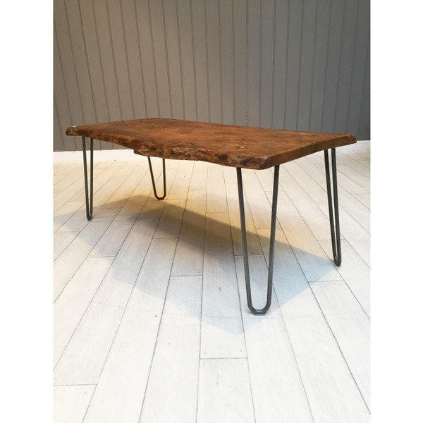 Oak Pin Leg Coffee Table