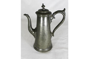 Thumb victorian pewter coffee pot 0