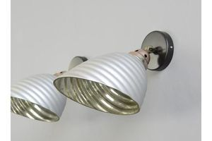Thumb wall mounted mercury glass lights circa 1930s 1930s 0
