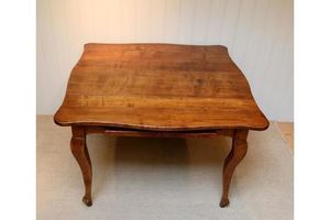 Thumb french cherry wood extending table 0
