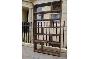 Thumb wide zig zag pigeon holes 110 reclaimed wood industrial or rustic vintage uk salvage upcycle gplanera 0