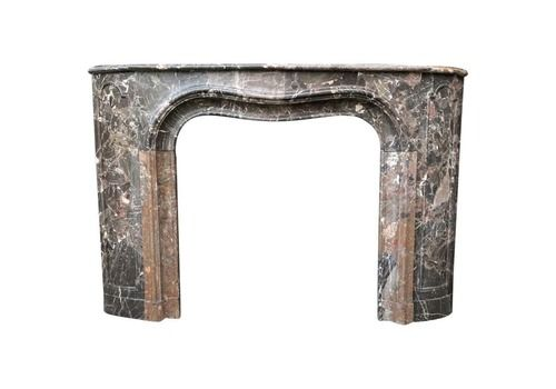 Breach Arble Fireplace From Waulsort, Early 19th Century