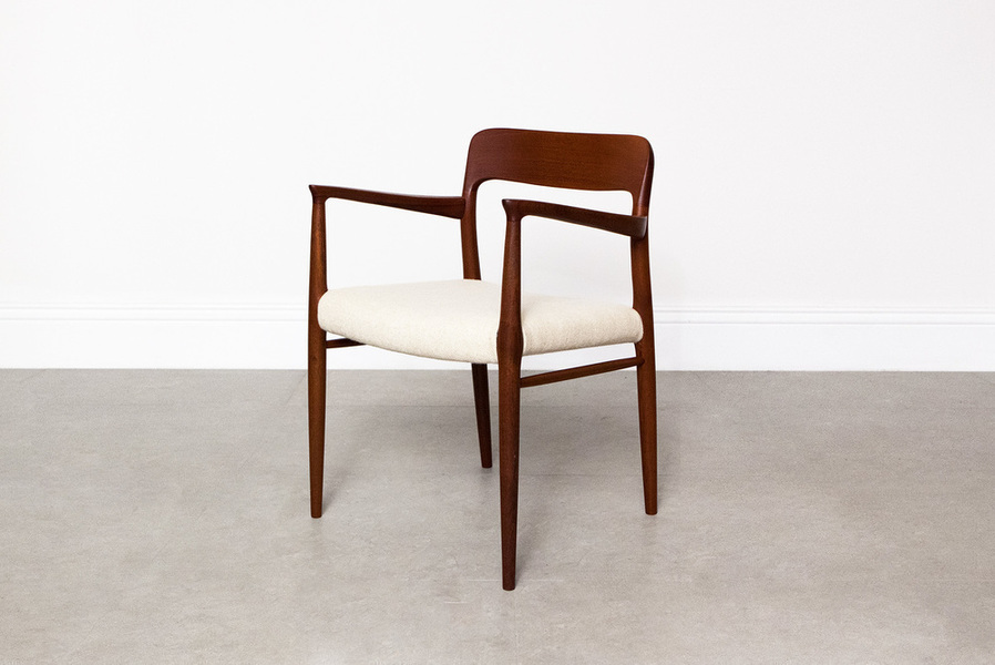 Niels Moller Model 56 Teak Armchair photo 1