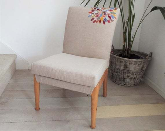 Astonishing Parker Knoll Nursing Chair Fully Reupholstered With Vintage Applique Detail Machost Co Dining Chair Design Ideas Machostcouk