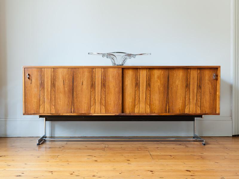 Richard Young For Merrow Associates Rosewood Sideboard photo 1