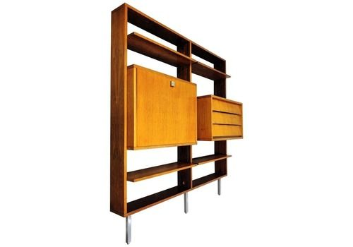 Wall Unit By Alfred Hendrickx For Belform, 1960s