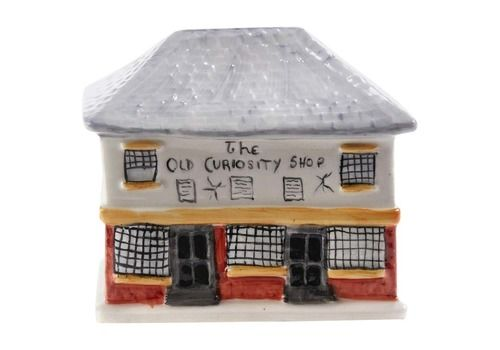 Antique Staffordshire Cottage Money Box