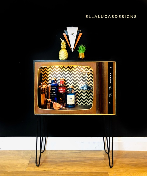 Retro Cocktail Cabinet