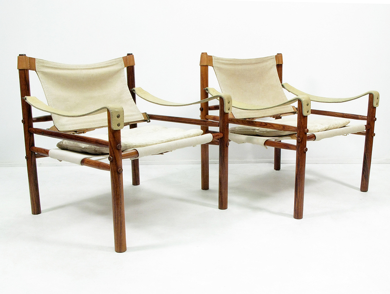 Pair Of Arne Norell Sirocco Chairs