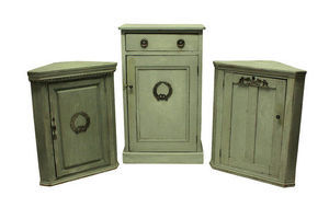 Thumb three swedish painted cupboards with silver mounts 1900s unknown sweden 0