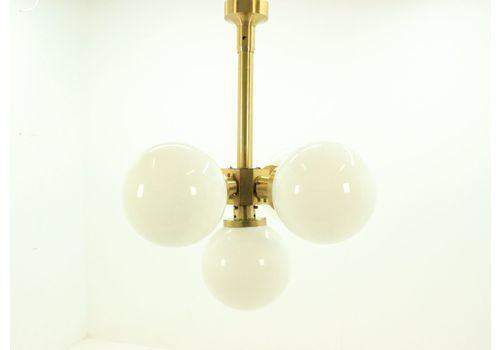 Large Rare Midcentury Chandelier Sputnik, Kamenicky Senov, 1970s