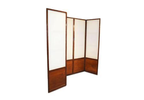 Antique Mahogany Room Divider / Screen