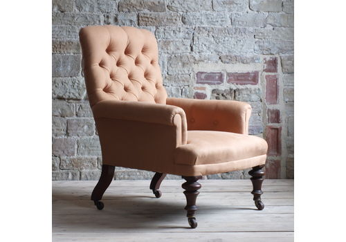 Victorian Arm Chair By Constantine & Co Of Leeds C1850