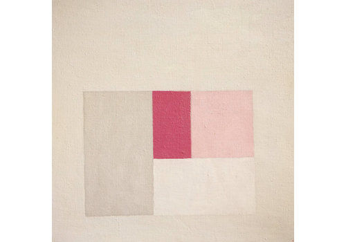 Abstract Minimalist Composition By Ian Fraser Arca, 1980s   No.3