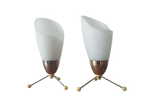 Pair Of Midcentury Table Lamps Kamenicky Senov, 1970s