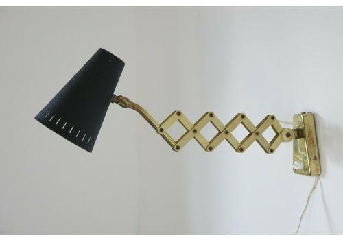 Mid Century Modern Scissor Lamp 20th Century Wall Lamp