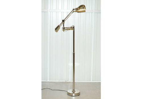 Ralph Lauren Boom Arm Rl 67 Est Chrome Floor Standing Height Adjustable Lamp