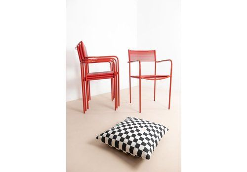 Spaghetti Stacking Chairs By Alias   Red