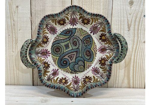 Bowl By Paul Fouillen For Quimper Faience, 1930s