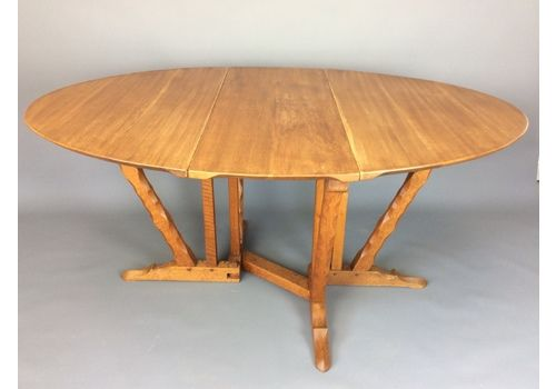 Romney Green Arts And Crafts Dining Table