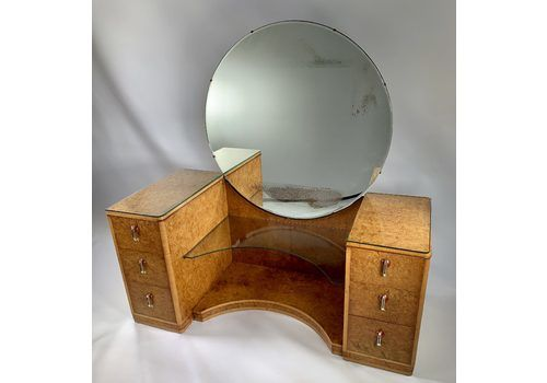 A Fine Art Deco Dressing Table