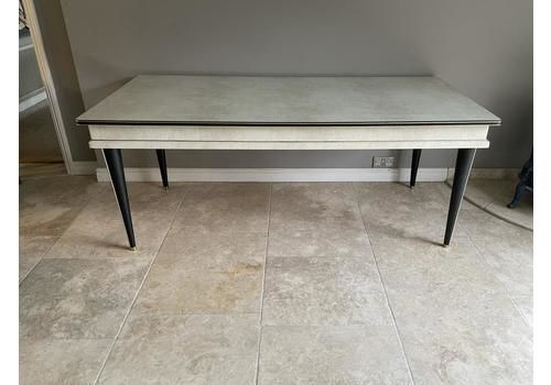 Umberto Mascagni  Dining Table Extra Large Version Italian 1950s Mid Century Modern