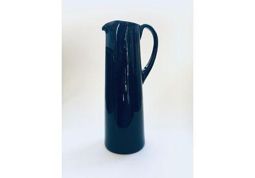 Midcentury Modern Scandinavian Design Purple Glass Decanter 1960's