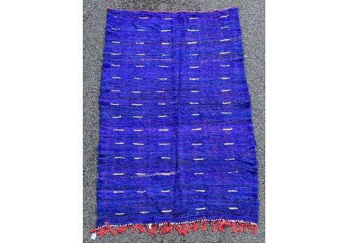 Moroccan Blue Berber Kilim Rug