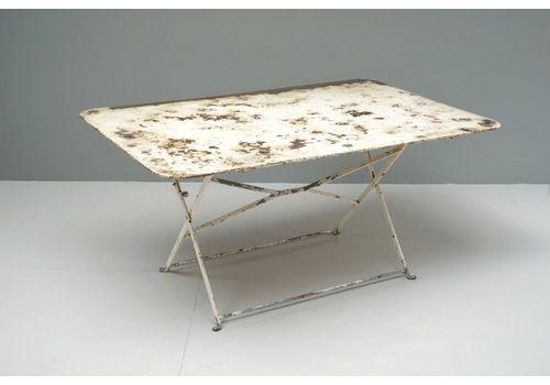 Folding Garden Table, 1930s